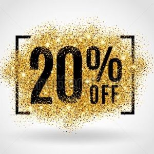 20% off of two items!